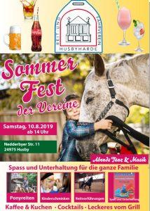 Sommerfest der Vereine